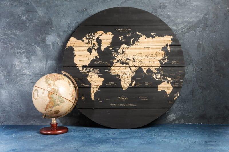 Mapamundi Large Circular 2