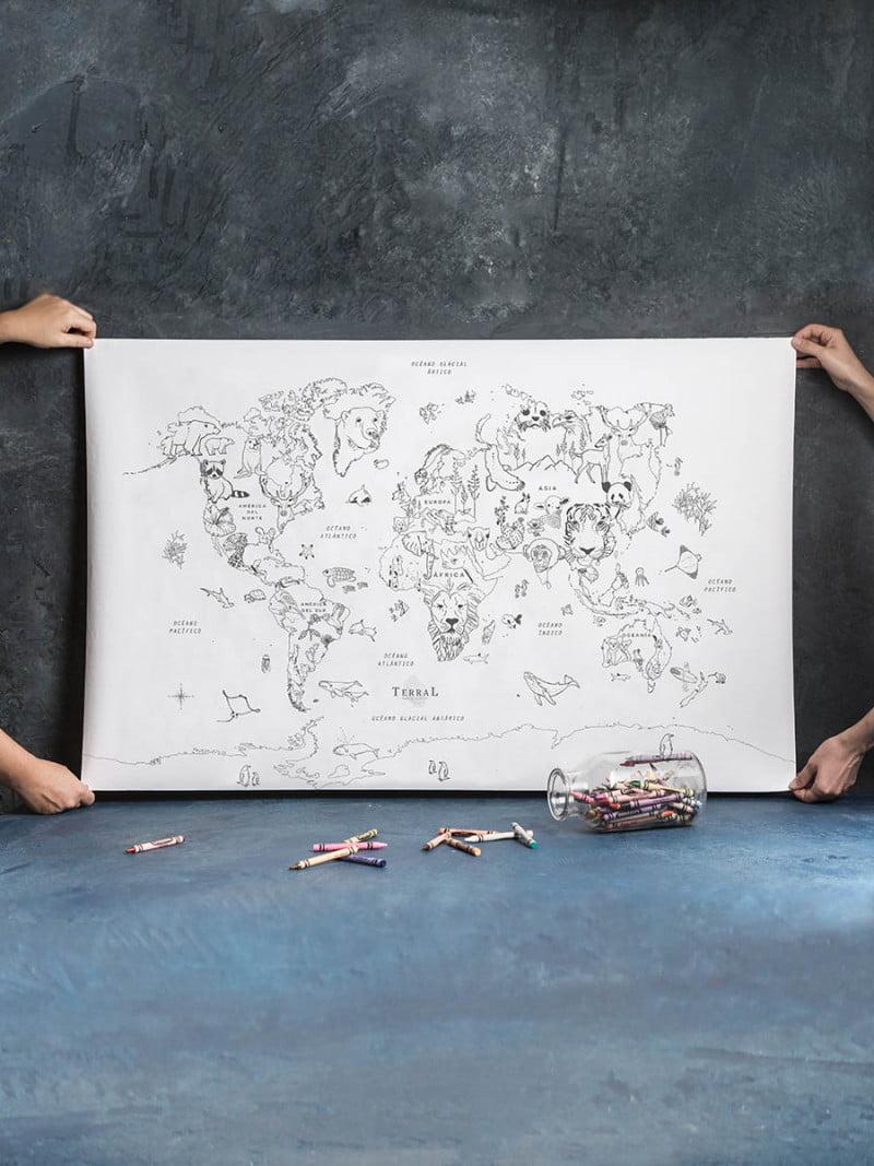 Pintá tu Mundo - Animalmundi - 1