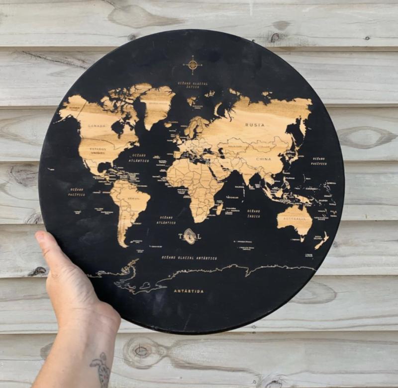 Mapamundi Medium Circular 2