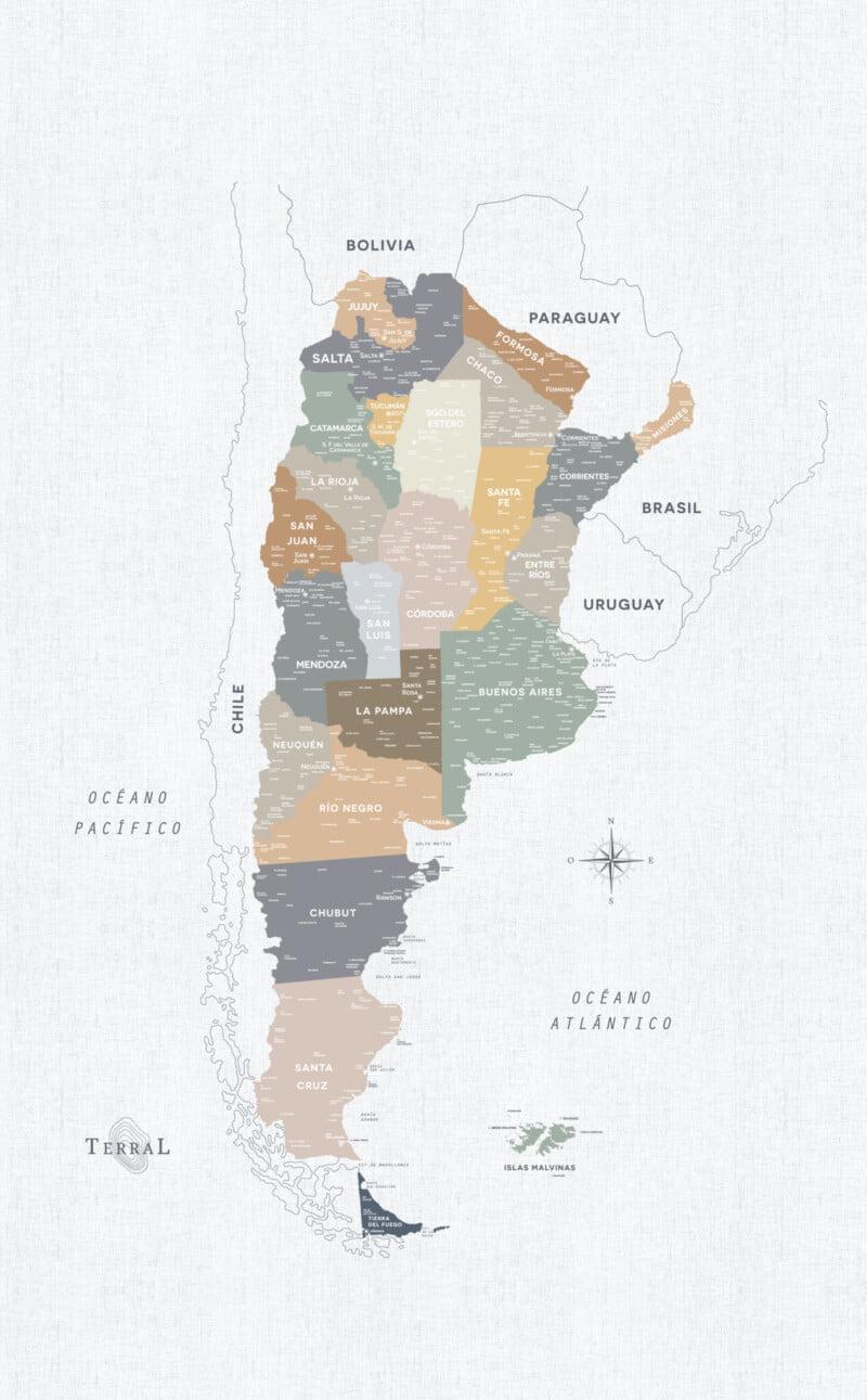 Alfombra Argentina Classic-sin marco 1