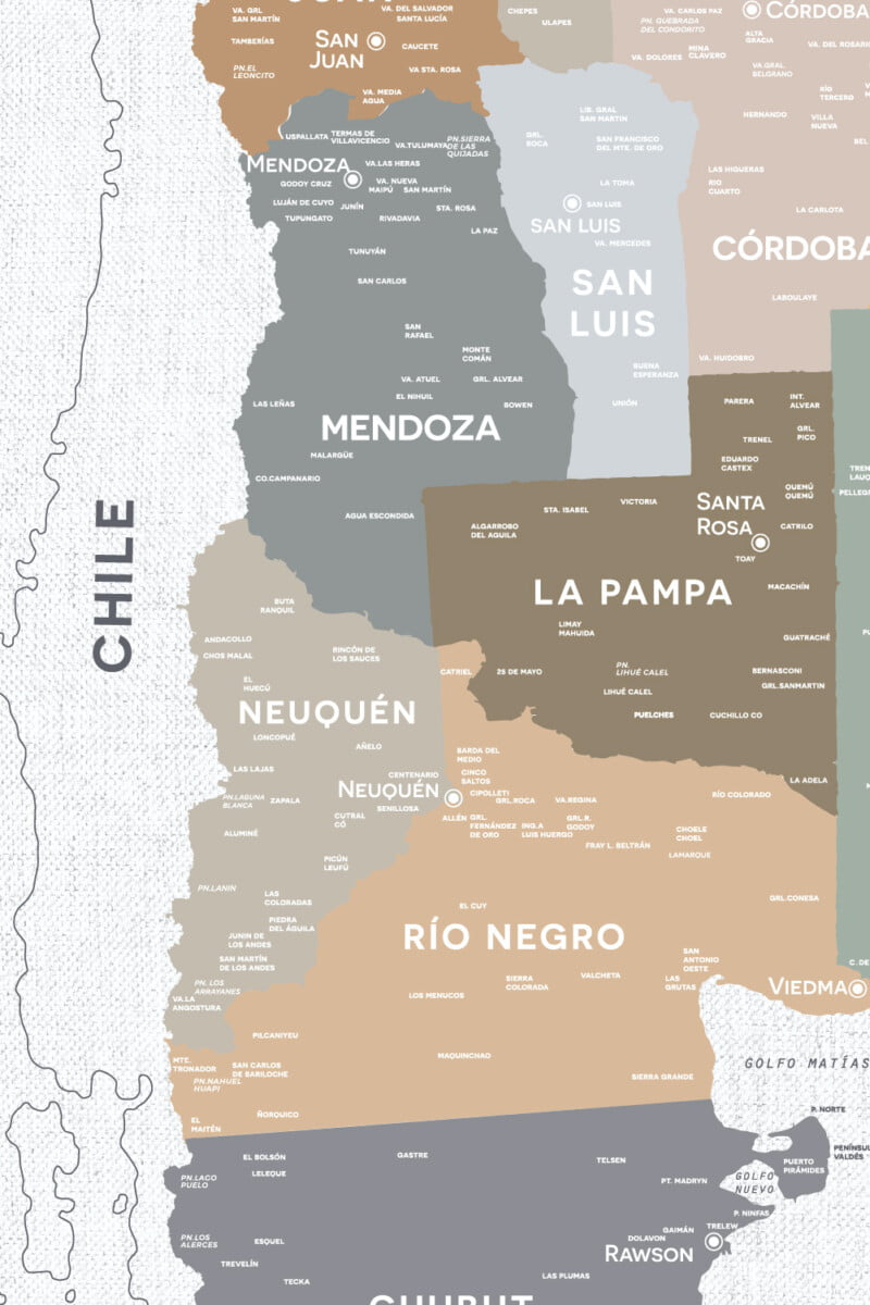 Alfombra Argentina Classic-sin marco 4