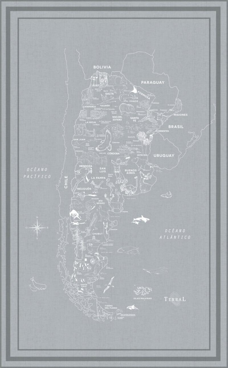 Alfombra Parques Nacionales - con marco 1