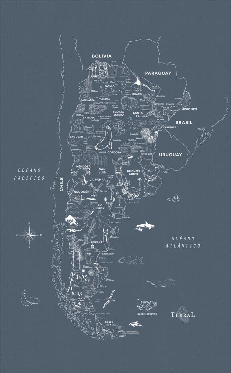 Alfombra Parques Nacionales - sin marco 7
