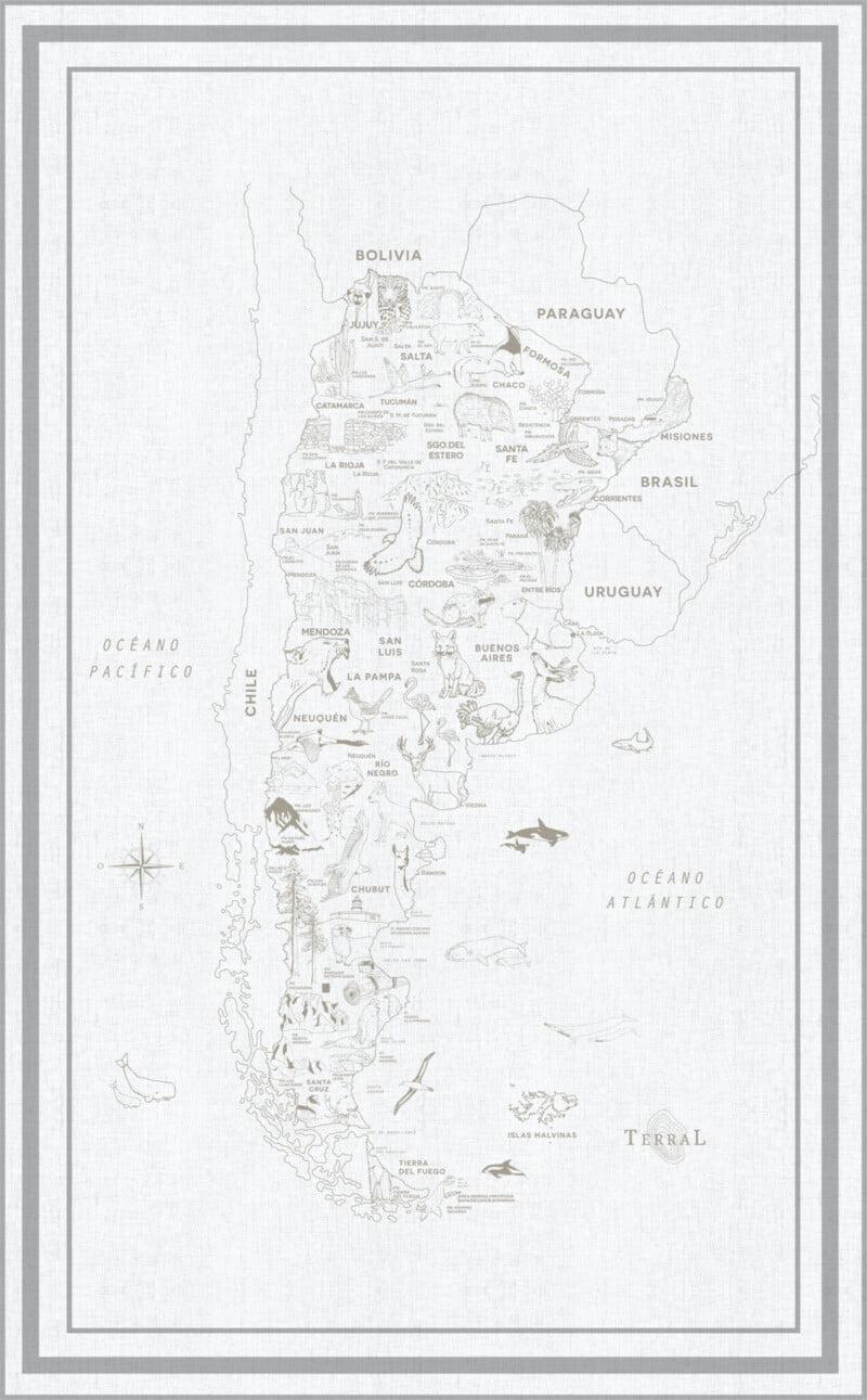 Alfombra Parques Nacionales - con marco 7