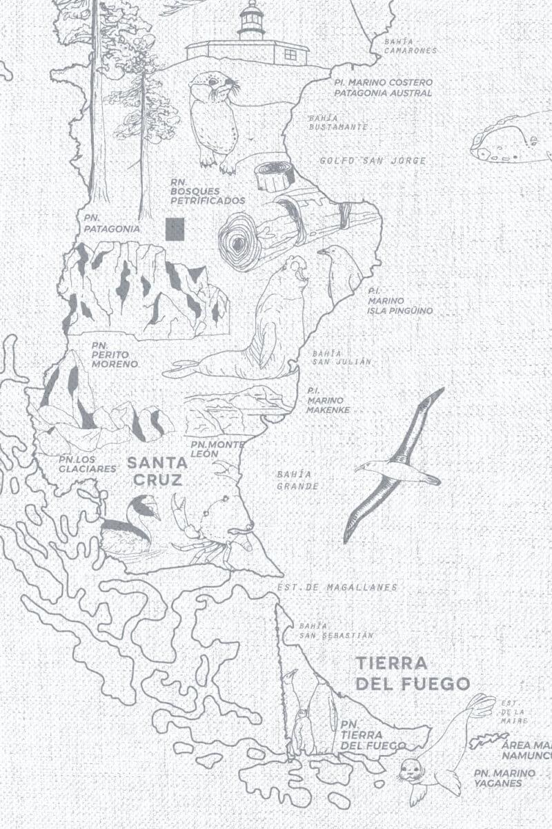 Alfombra Parques Nacionales - con marco 19