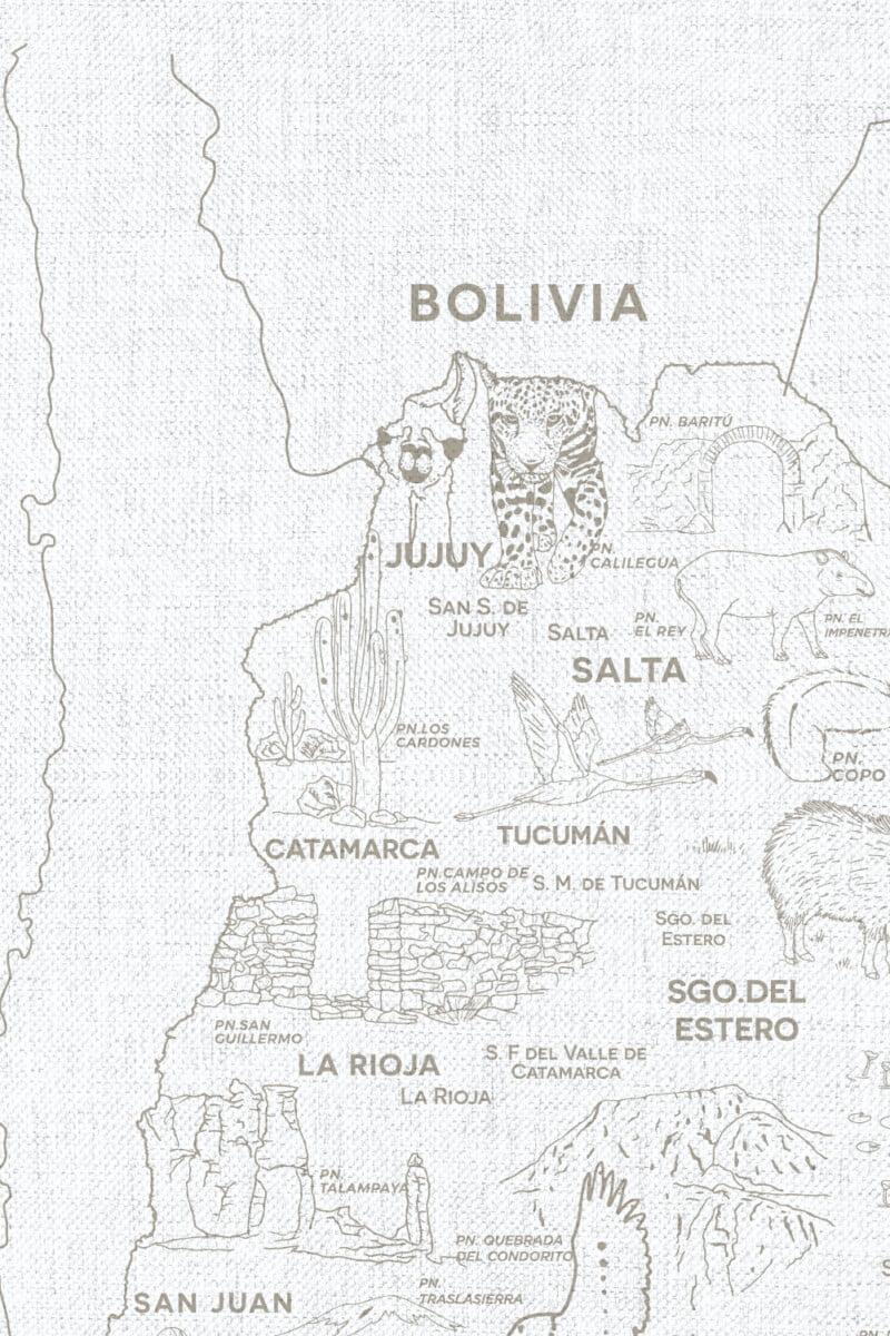 Alfombra Parques Nacionales - con marco 8
