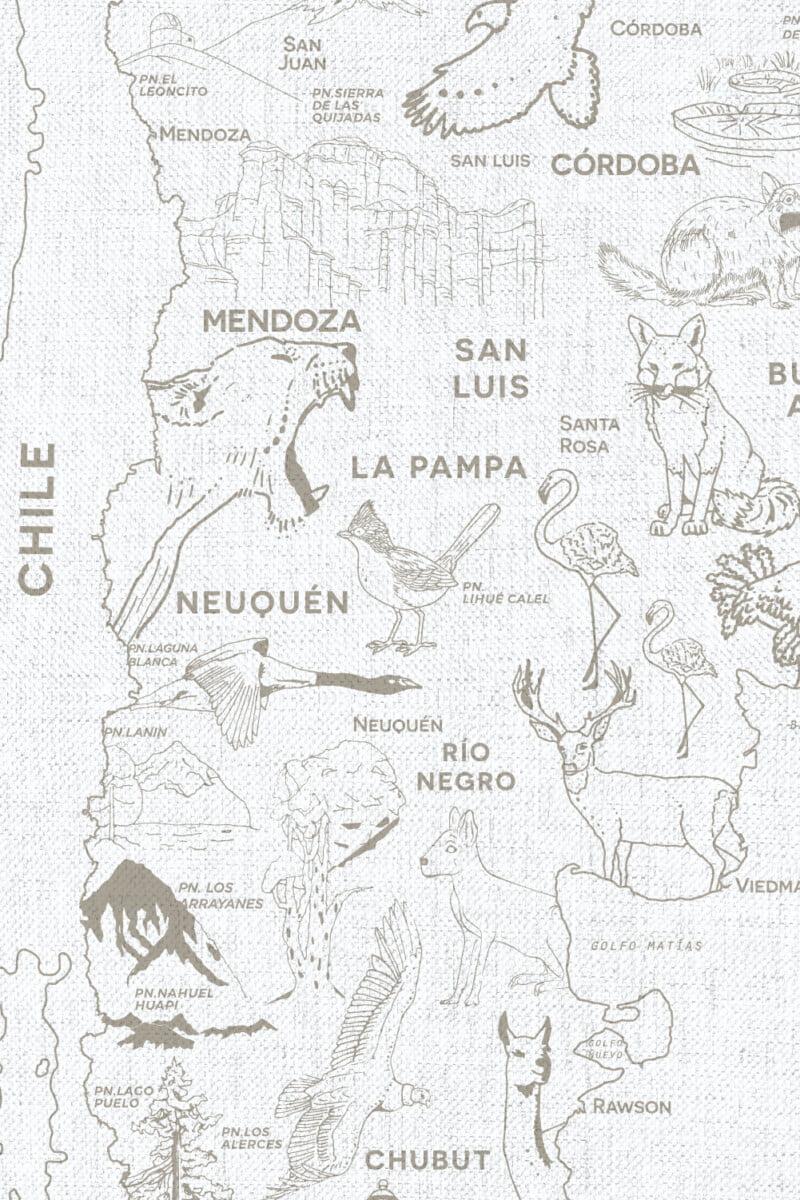 Alfombra Parques Nacionales - con marco 9