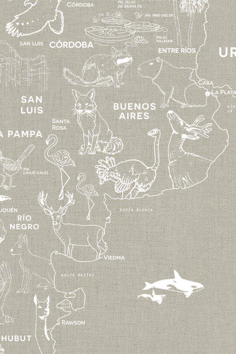 Alfombra Parques Nacionales - con marco 5