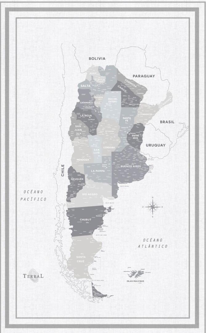 Alfombra Argentina Classic-con marco 7