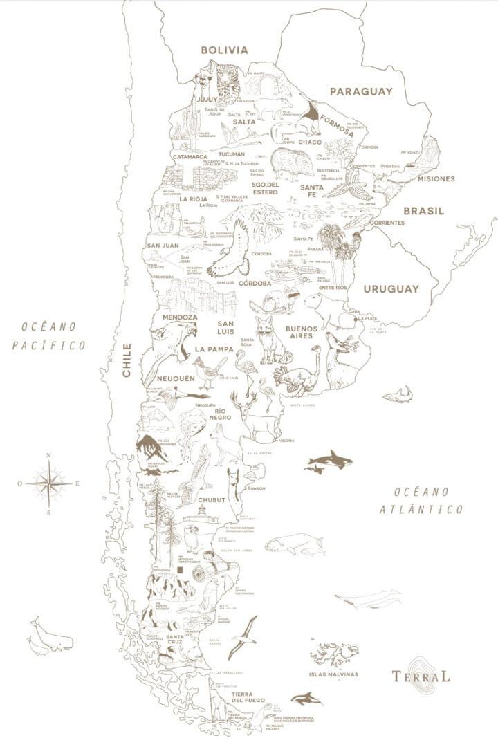 Empapelado Parques Nacionales Línea 2