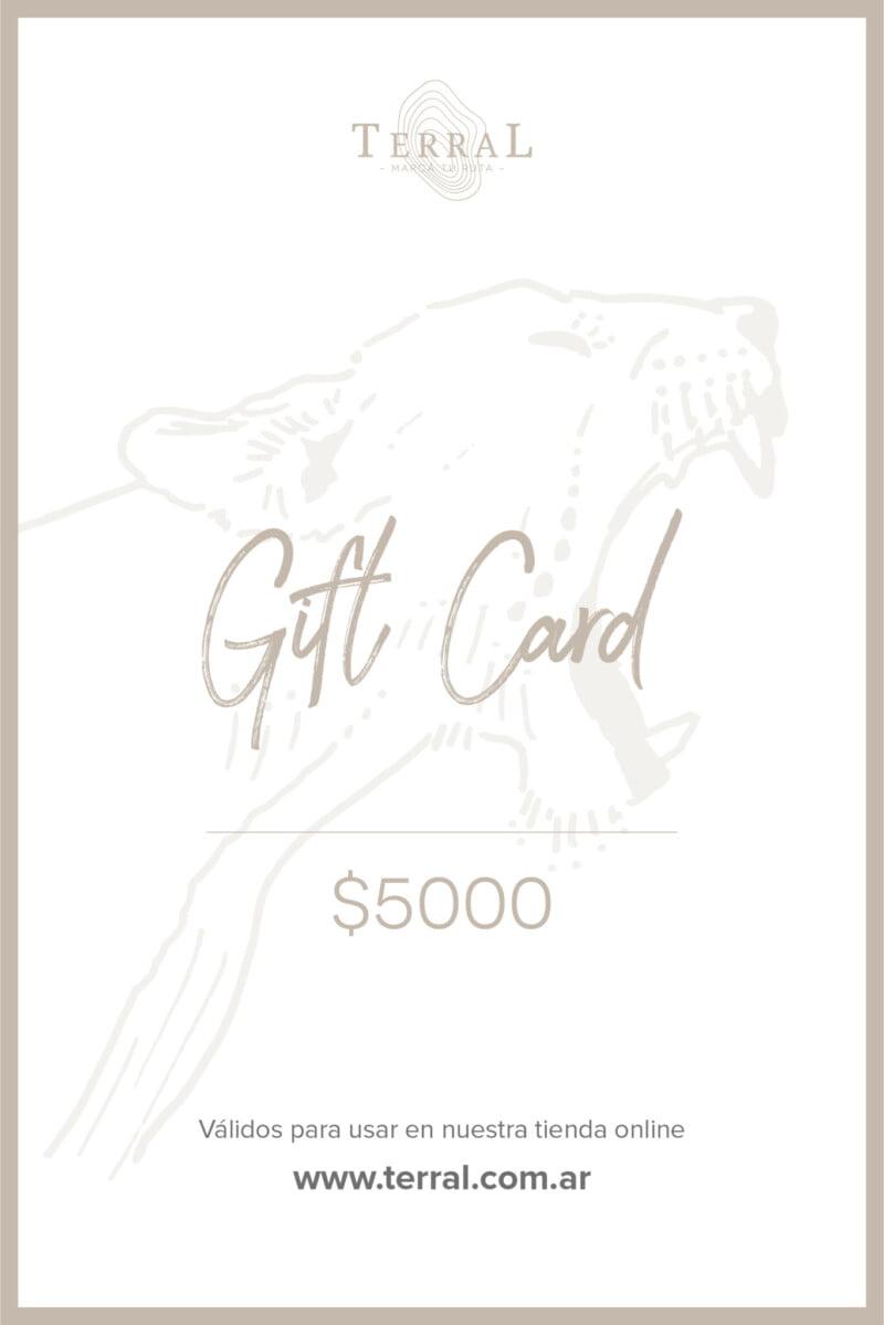 Gift Card 5000 1