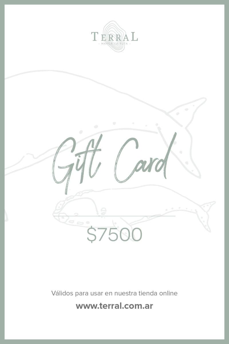 Gift Card 7500 1
